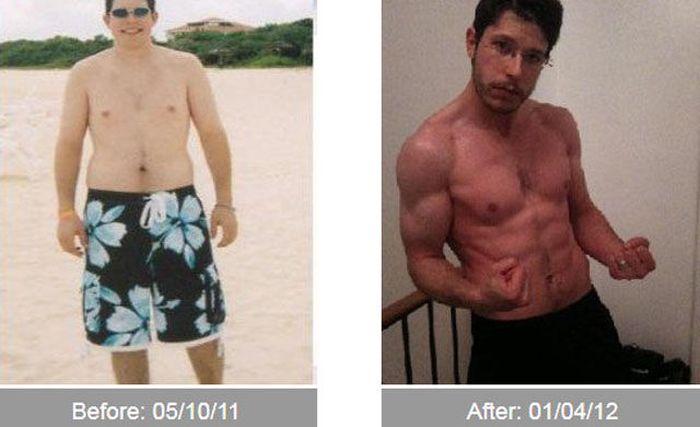 Transformações - Antes e depois 10