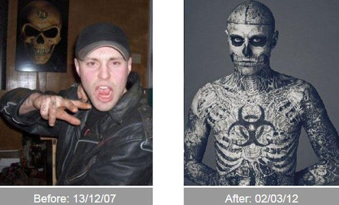 Transformações - Antes e depois 24