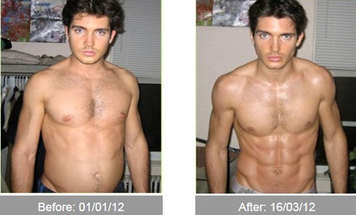 Transformações - Antes e depois 30