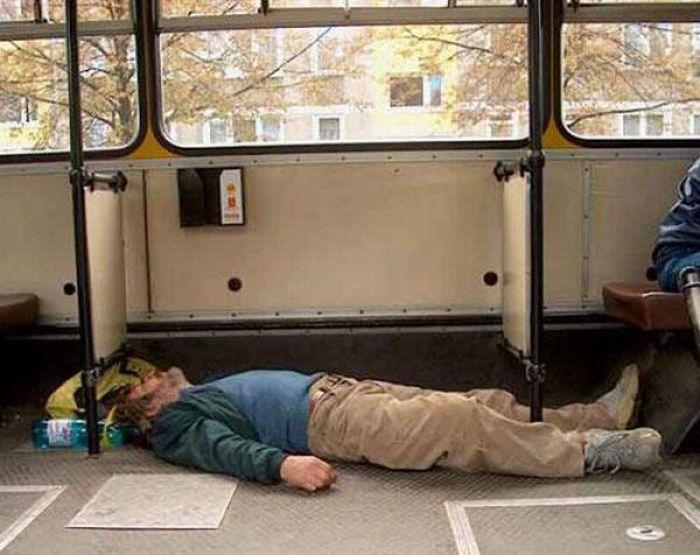 Gente esquisita dos transportes públicos 02