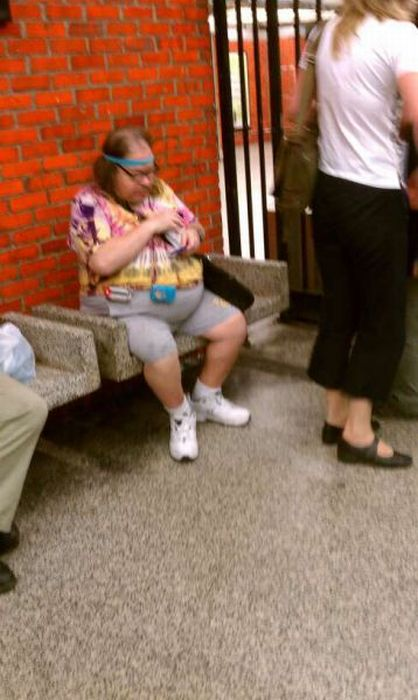 Gente esquisita dos transportes públicos 16