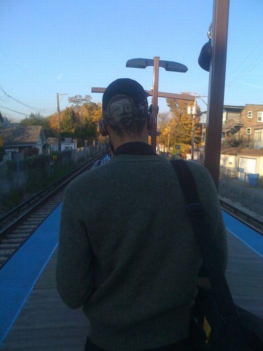Gente esquisita dos transportes públicos 23