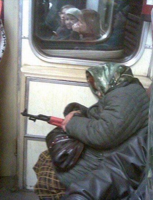 Gente esquisita dos transportes públicos 29