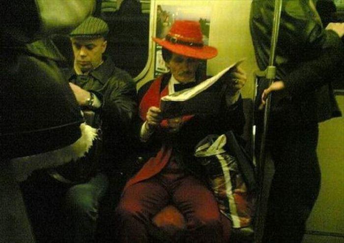 Gente esquisita dos transportes públicos 31