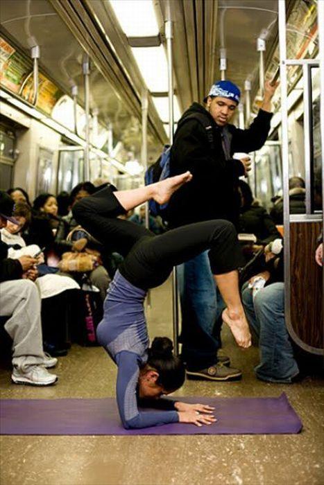 Gente esquisita dos transportes públicos 33