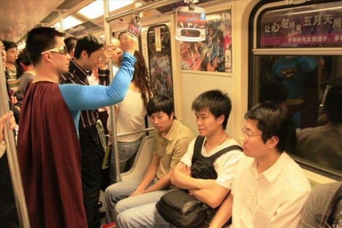 Gente esquisita dos transportes públicos 36