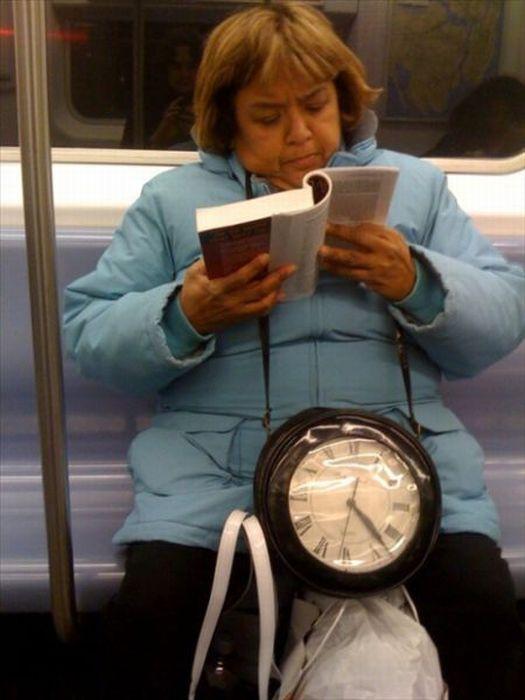 Gente esquisita dos transportes públicos 37