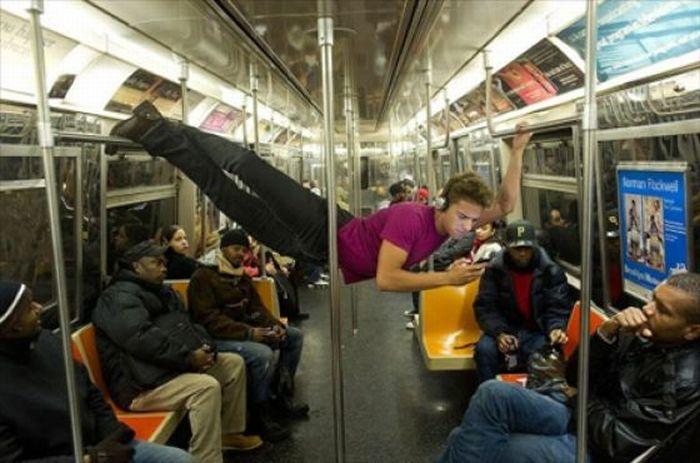 Gente esquisita dos transportes públicos 38