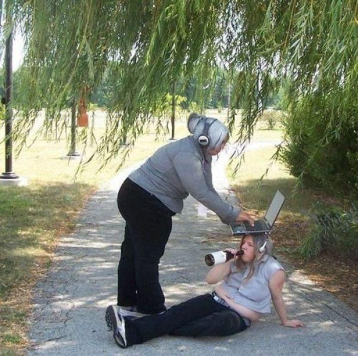 Gente estranha da Internet 55