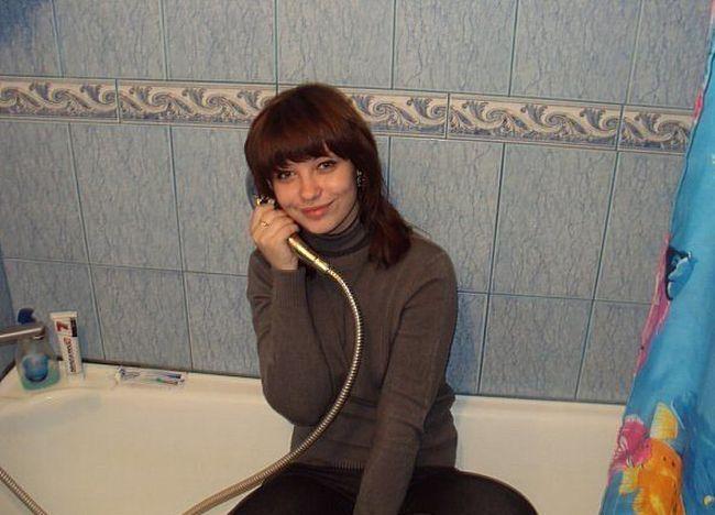 Moças estranhas de redes sociais russas 36
