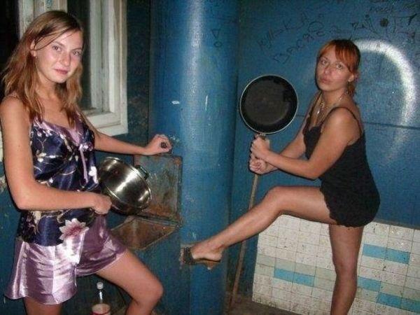 Moças estranhas de redes sociais russas 41