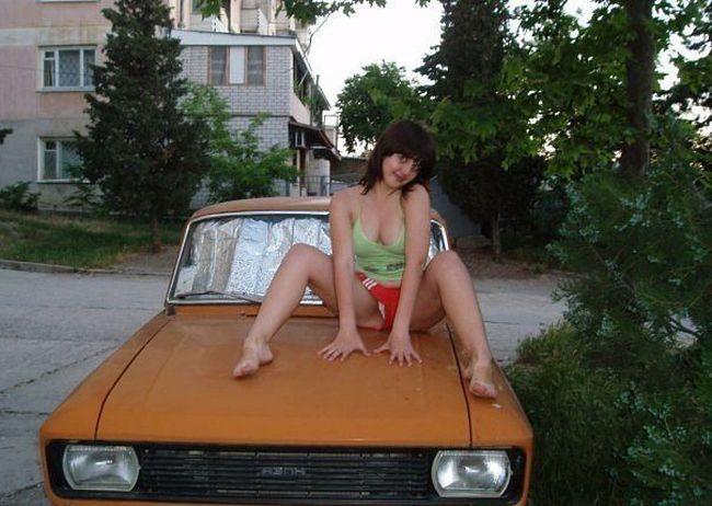 Moças estranhas de redes sociais russas 46