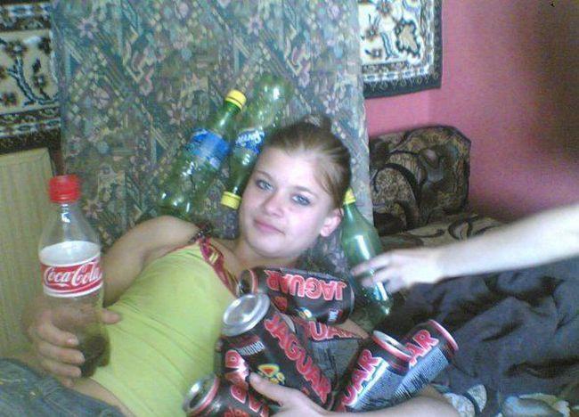 Moças estranhas de redes sociais russas 48