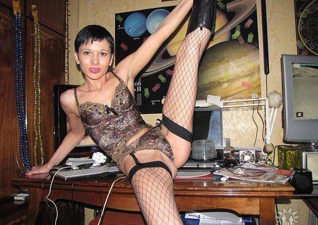 Moças estranhas de redes sociais russas 59