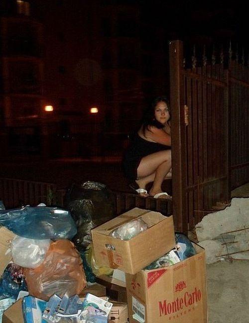 Moças estranhas de redes sociais russas 60