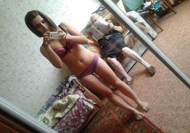 Moças estranhas de redes sociais russas 85