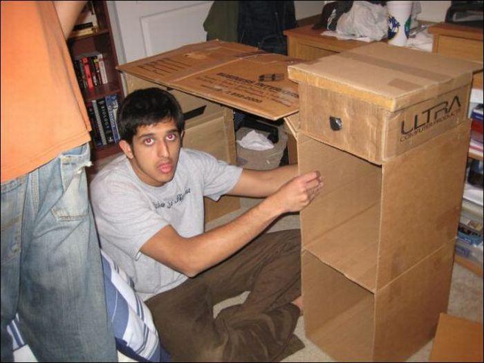 Móveis de papelão 08