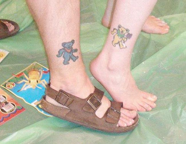 Tatuagens de casal terríveis 01