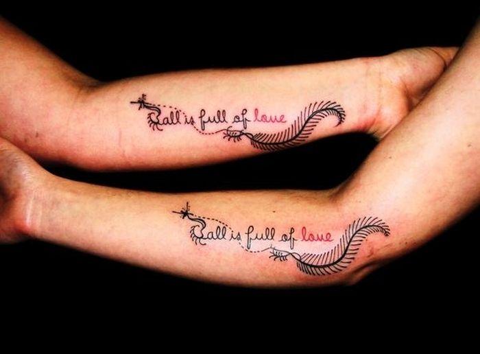 Tatuagens de casal terríveis 09