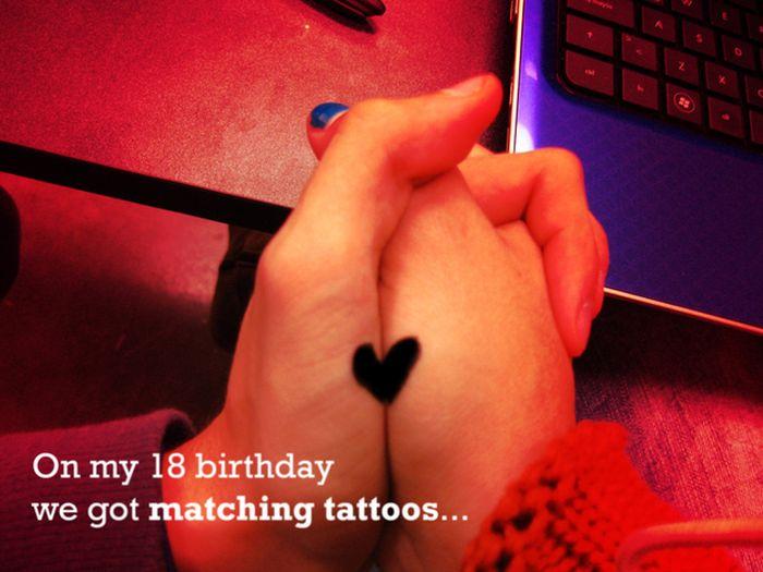 Tatuagens de casal terríveis 25