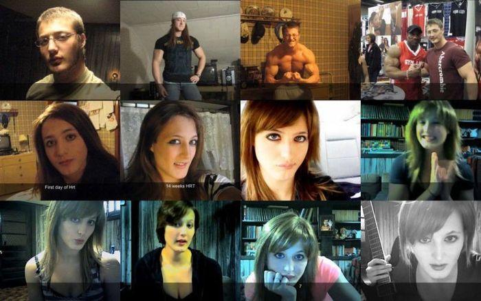 Transformação de homens em mulheres 01