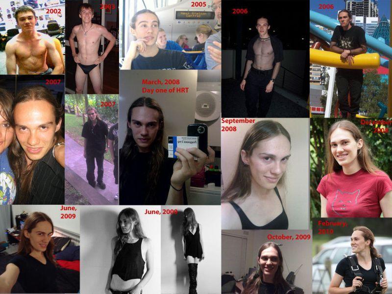 Transformação de homens em mulheres 04