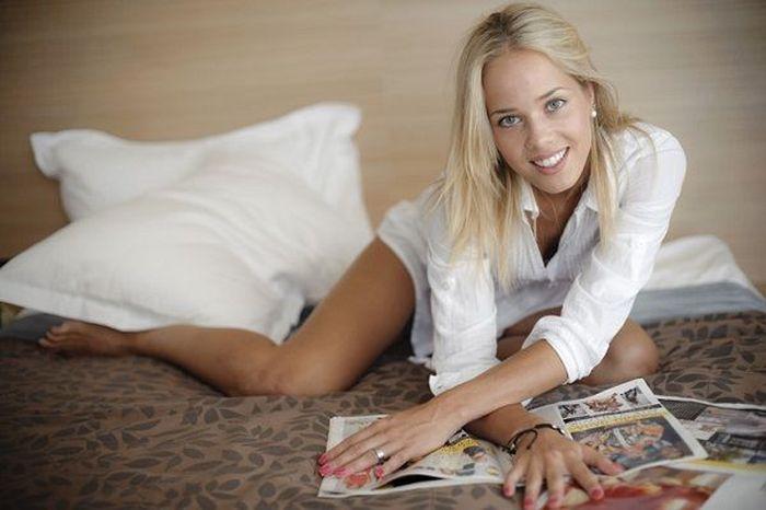Antonia Misura - a musa dos Jogos Olímpicos 07