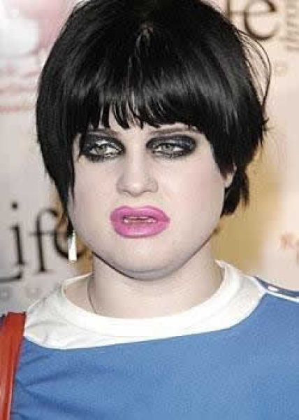 O tapa no visual de Kelly Osbourne