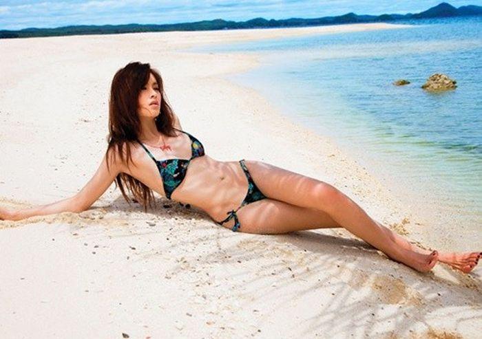 Nong Poy, uma modelo incomum da Tailândia 14