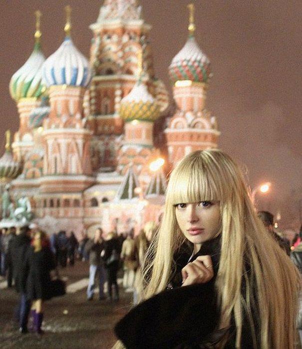 Mais fotos de Angelika Kenova, a boneca Barbie russa do mundo real 12