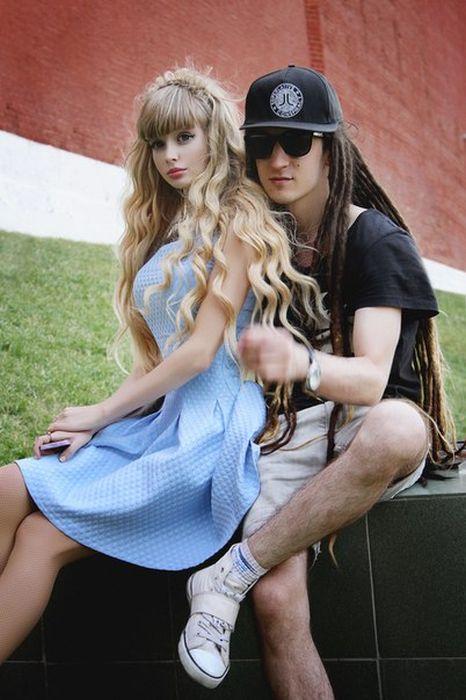 Mais fotos de Angelika Kenova, a boneca Barbie russa do mundo real 22