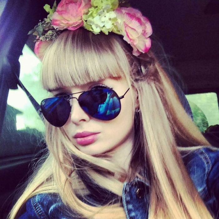 Mais fotos de Angelika Kenova, a boneca Barbie russa do mundo real 29