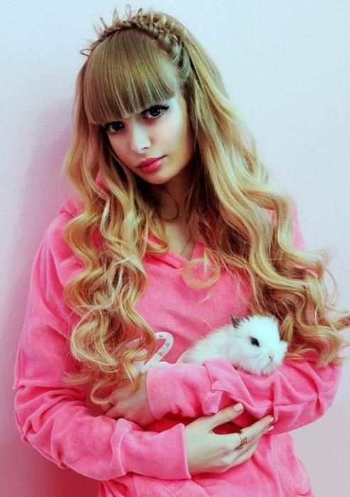 Mais fotos de Angelika Kenova, a boneca Barbie russa do mundo real 30