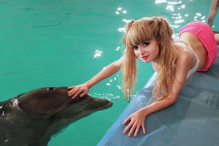 Mais fotos de Angelika Kenova, a boneca Barbie russa do mundo real 34