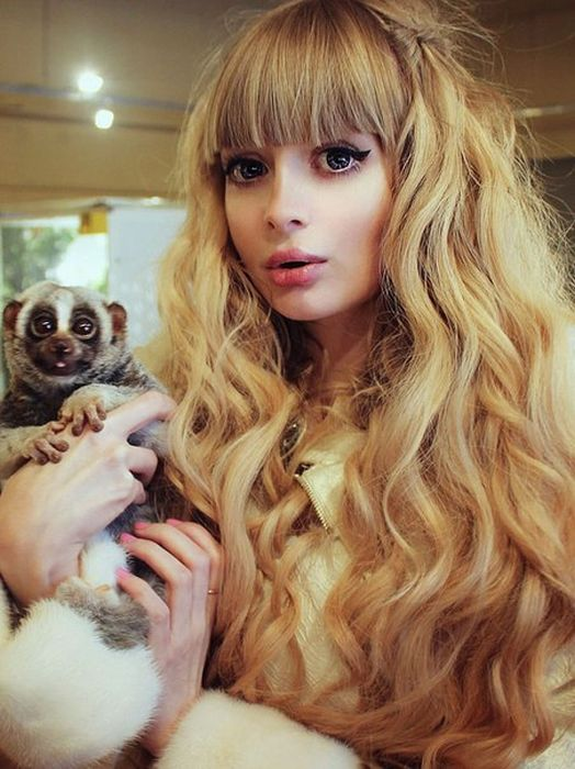 Mais fotos de Angelika Kenova, a boneca Barbie russa do mundo real 39