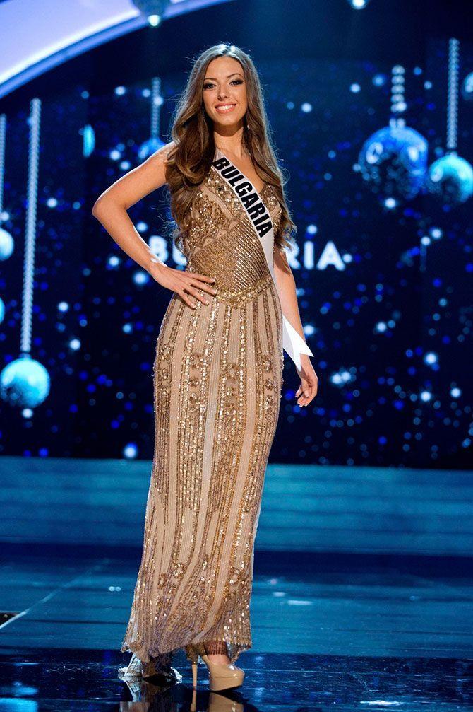 As concorrentes do Miss Universo 2012