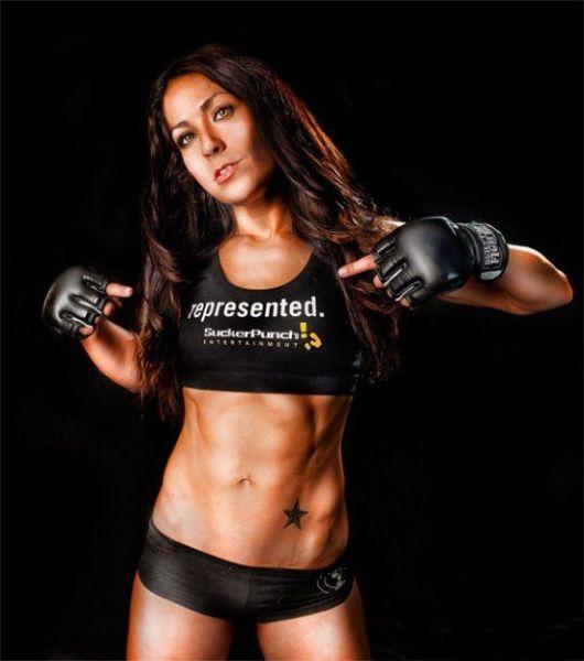 As sexy lutadoras do MMA 56
