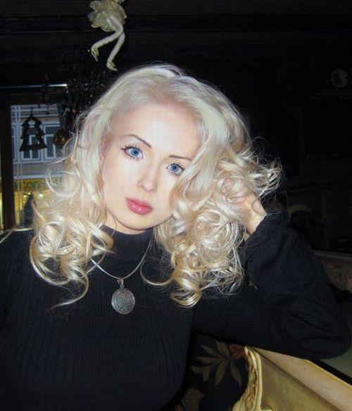 Lera uma garota popular na Rússia