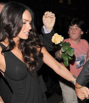 Brad Pitt que se cuide, Megan Fox sonha com Angelina Jolie