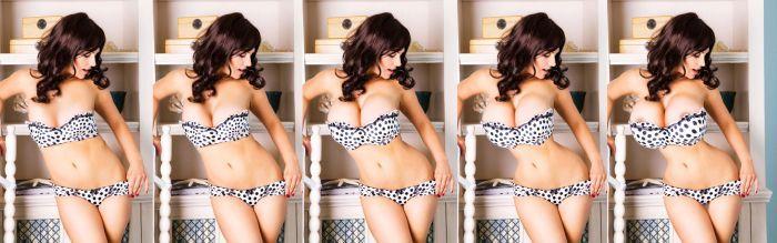 Como melhorar a imagem de modelos no Photoshop 19