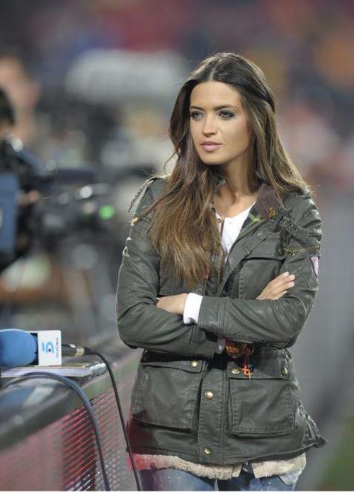 Sara Carbonero, a bela espanhola