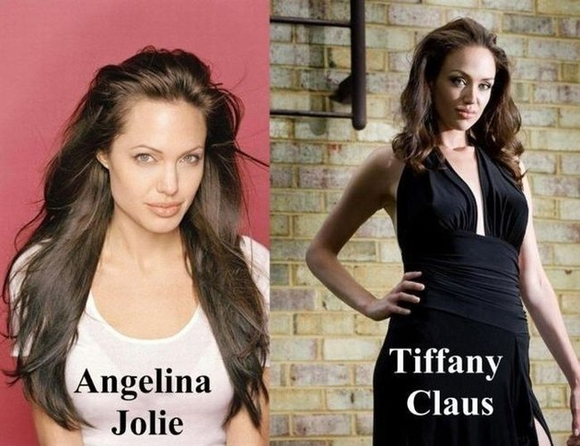 Tiffany Claus, a irm� g�mea que Angelina nunca teve 01