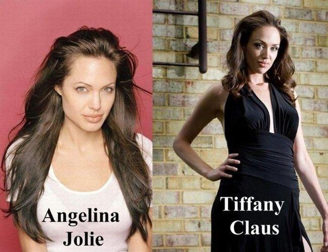 Tiffany Claus, a irmã gêmea que Angelina nunca teve 01
