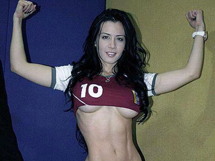 Outra torcedora desperta paixões na Copa América 05