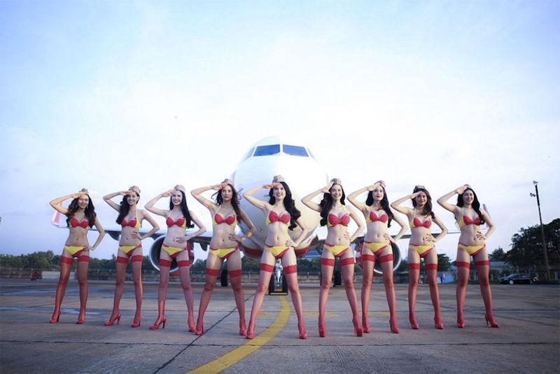 Vietnamita está prestes a se tornar a primeira bilionária do Sudeste Asiático por empresa aérea que emprega aeromoças de biquíni 03