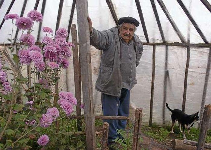 Jos� Mujica, o presidente mais humilde e generoso do mundo 04