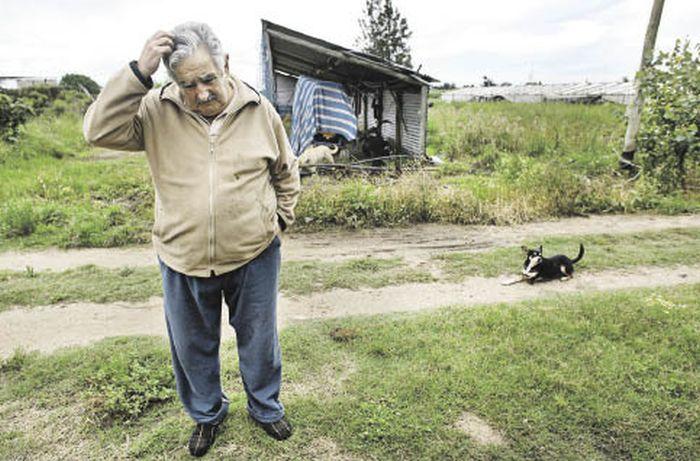 Jos� Mujica, o presidente mais humilde e generoso do mundo 08