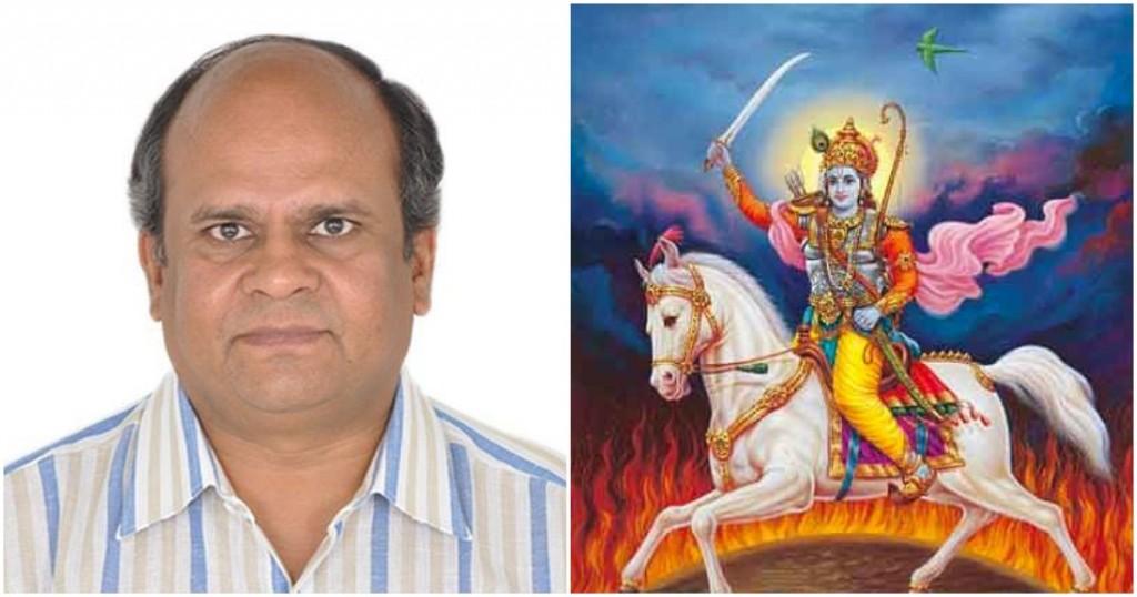 Indiano avisou o chefe que não pode ir trabalhar porque está muito ocupado sendo Deus