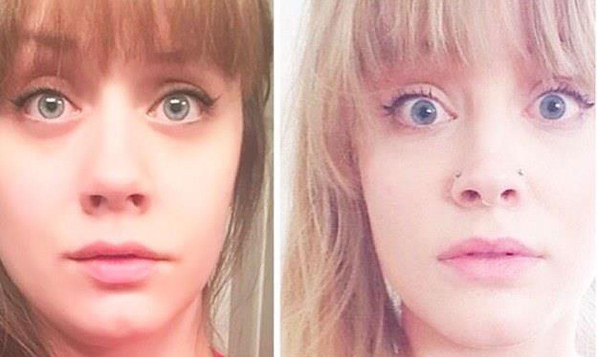 Descobriu que uma desconhecida era id�ntica a ela e a encontrou com a ajuda da internet