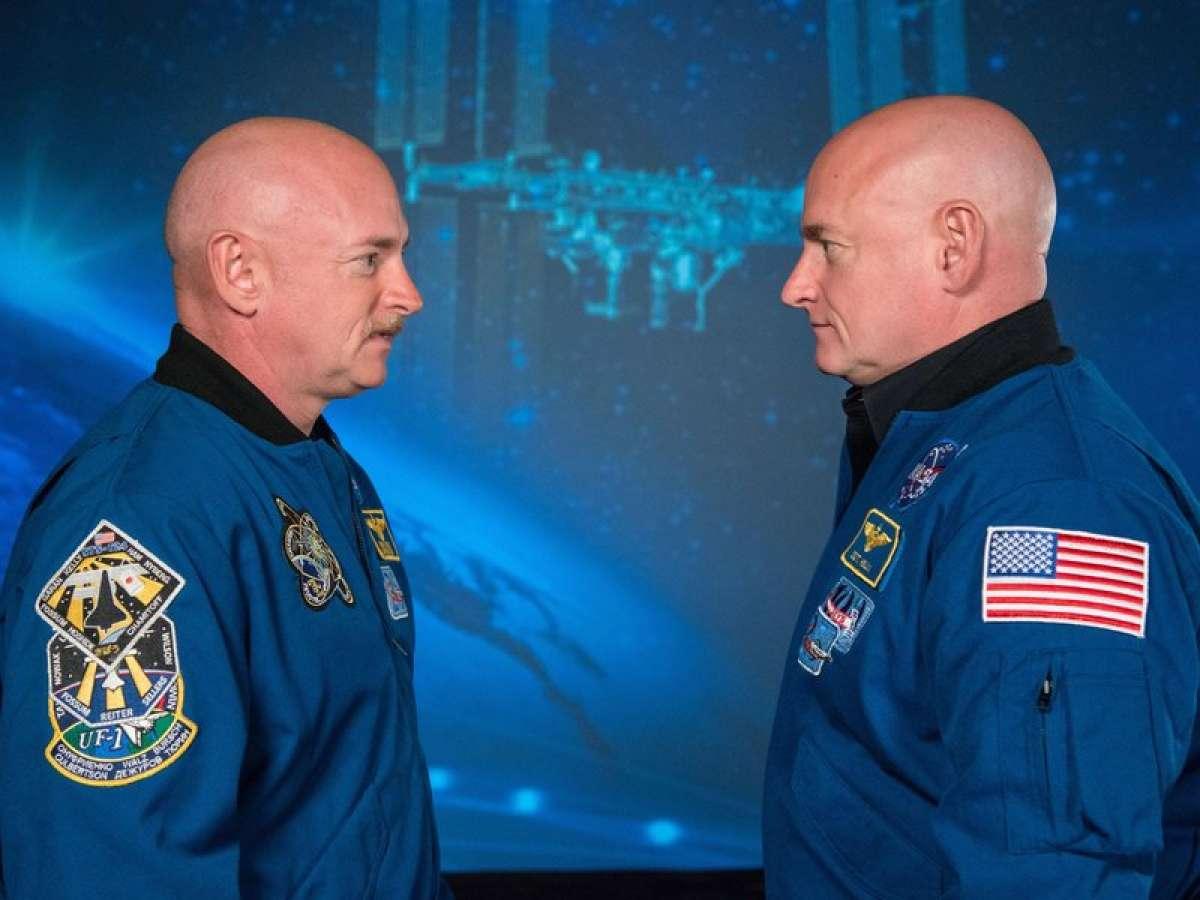 Um destes gêmeos viajou ao espaço e voltou diferente de seu irmão 09